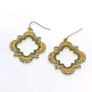 🟣4/$20 Quatrefoil Clover Earrings